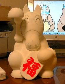 上賀茂からこんにちは。-招き馬原型の図