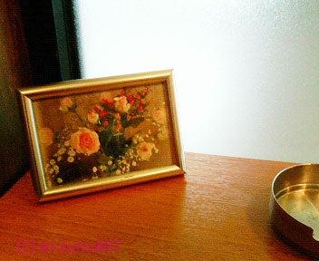 言葉と心を描くアート~こころのいろ*mizunoART-喫茶店の薔薇