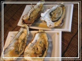 きょんのたわごと-焼牡蠣