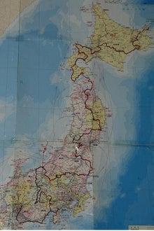 歩き人ふみの徒歩世界旅行 日本・台湾編-ふみの歩いた道
