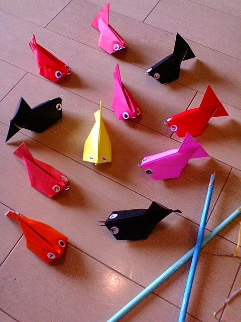 折り紙の ディズニー折り紙の折り方 : 今日の折り紙・金魚釣り|新 ...