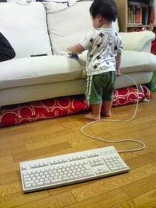 Grumpy Monkey(不機嫌なおさるさん)の観察日記-mini taking keyboard_Aug6