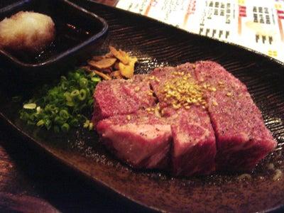 美味しいお店探し旅 -関西中心にいろいろ--いちぼ肉の一口ステーキ