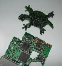 亀の子これくしょん-基盤ブローチ うちのパーツ