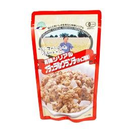 cinnamon log-organic cereal
