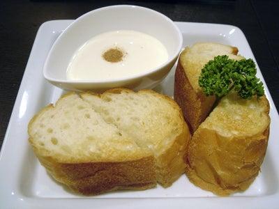 美味しいお店探し旅 -関西中心にいろいろ--冷製チーズフォンデュ