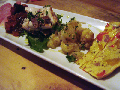 美味しいお店探し旅 -関西中心にいろいろ--前菜5種盛り合わせ