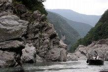 カルマンギアのある生活-大歩危峡2