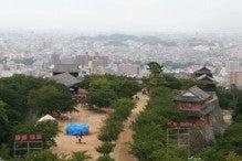 カルマンギアのある生活-松山城・天守からの眺め