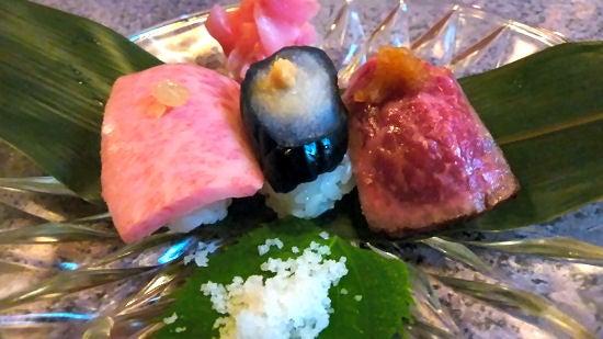 たまたま京都に住んでます。- 弘・和牛タタキと大トロの握り