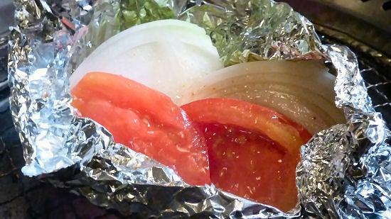 たまたま京都に住んでます。- 弘・新鮮野菜ホイル焼き