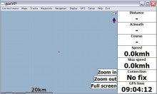 viliv S5 のレビューとか-gpsVPの設定完了後の画面