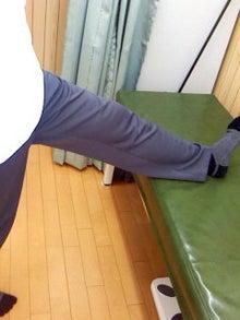 川越市・おしだ整体院「ボキッとしない痛み無用の全身調整師」 ブログ-ハムストリングスのストレッチ