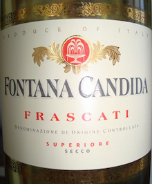 個人的ワインのブログ-Fontana Candida Frascati 2006