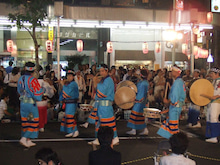 カルマンギアのある生活-大塚阿波踊り-鳴り物