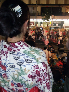 カルマンギアのある生活-大塚阿波踊り