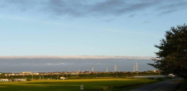 恵那爺の里山歩き-昨日の空
