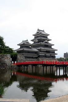カルマンギアのある生活-松本城