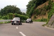 カルマンギアのある生活-見晴らしのよい山道