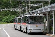 カルマンギアのある生活-トローリーバス