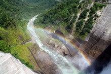 カルマンギアのある生活-黒部ダム