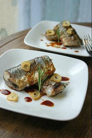うちの島ごはん-秋刀魚のソテー