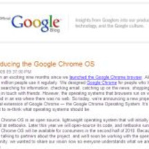 Googleは新OS…