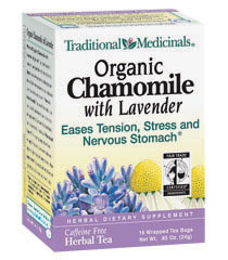 cinnamon log-chamomile with lavender