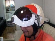 カルマンギアのある生活-ウルトラ警備隊のヘルメット