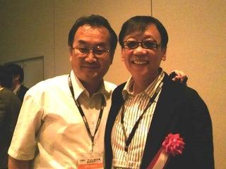 遠藤雅伸公式blog「ゲームの神様」-パーティーにて堀井さんと