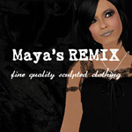 Maya's style / Second Life Fashion-Maya's REMIX English blog