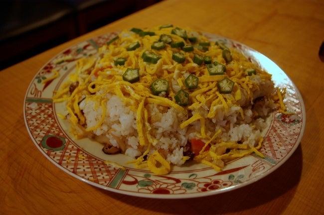 いろりや9640ブログ~高知県黒潮町LOVEな毎日をお届け~-ちらし寿司
