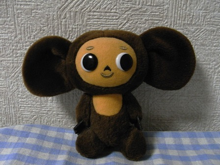 cinnamon log-cheburashka