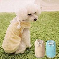 Simplers Fun ~シンプラーズの洋服とわんこの日記~-ベイビーソフトシャツ着用