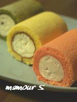 素敵に花☆ウエディング -ミニロールケーキ