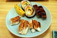 カルマンギアのある生活-穴子寿司