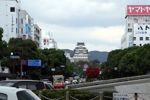 カルマンギアのある生活-姫路駅
