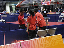 JAPAN DEAF TABLE TENNIS-台北デフ85