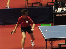 JAPAN DEAF TABLE TENNIS-台北デフ84