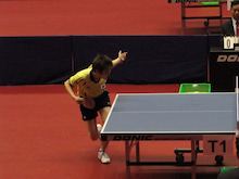 JAPAN DEAF TABLE TENNIS-台北デフ94