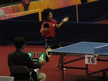 JAPAN DEAF TABLE TENNIS-台北デフ95