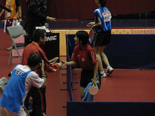 JAPAN DEAF TABLE TENNIS-台北デフ96