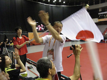 JAPAN DEAF TABLE TENNIS-台北デフ92