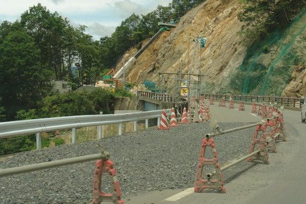 RoadJapan 日本の道路、昭和の旧道を巡る旅-国道342号 災害の痕跡1