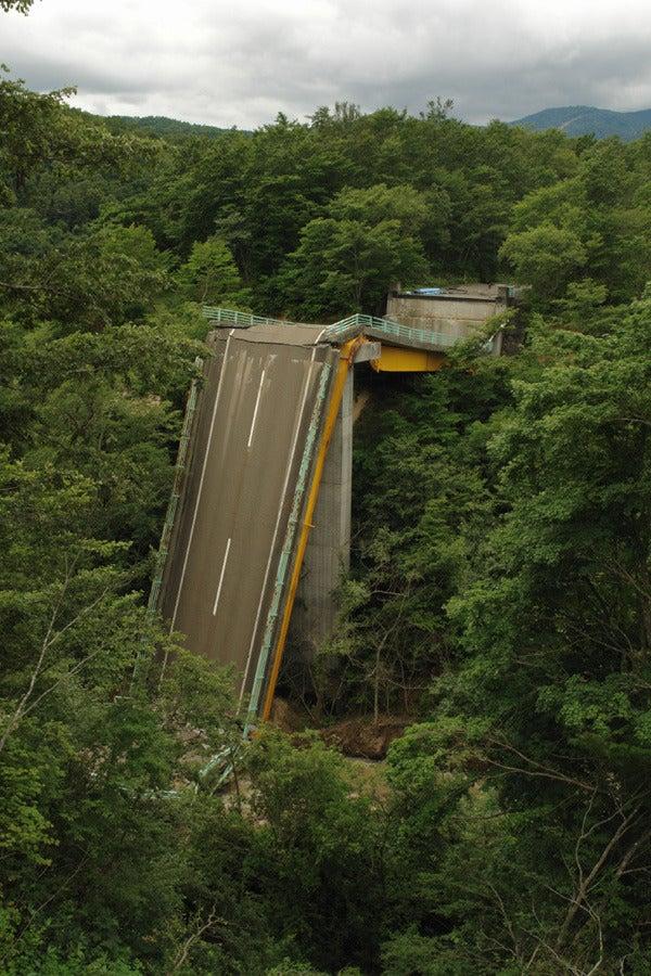 RoadJapan 日本の道路、昭和の旧道を巡る旅-国道342号旧道 祭畤大橋