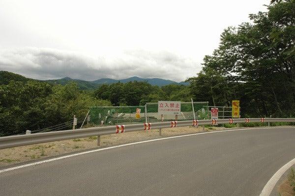 RoadJapan 日本の道路、昭和の旧道を巡る旅-国道342号 祭畤大橋手前