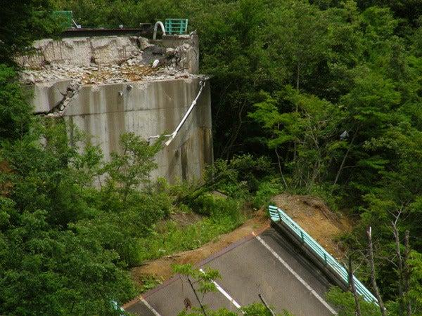 RoadJapan 日本の道路、昭和の旧道を巡る旅-国道342号 祭畤大橋2