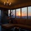 長丘の夕陽