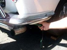 カルマンギアのある生活-風速計で測定