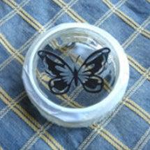 蝶々をカッティング